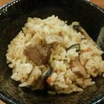 黒豚の炊き込みご飯