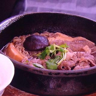神戸牛すき鍋(モロゾフ 神戸大丸店 (Morozoff))