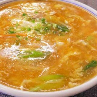 酸辣湯麺(龍巳飯店 )