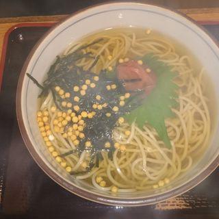 梅そば(伏見庵 )