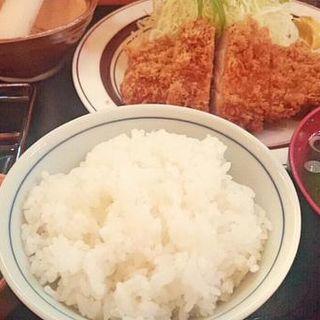 とんかつ定食(三河屋 (みかわや))