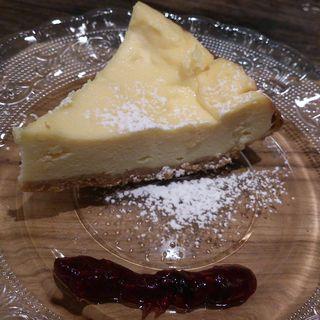 チーズケーキ(SHIROKANE | LOUNGE (シロカネ ラウンジ【旧店名】ウィークエンド バイ ココロ))
