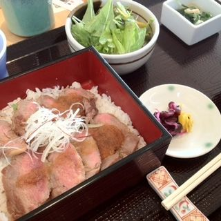 ステーキ重御膳(江戸前肉割烹 宮下 )
