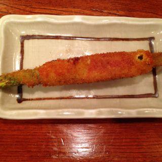 串かつ アスパライタリアンチーズ(串八 槙島店 (くしはち))