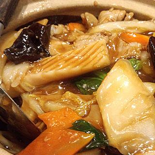 海鮮土鍋ごはん(雲龍 一包軒 錦糸町テルミナ店 (ウンリュウイッポウケン))