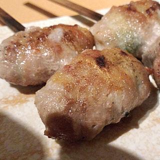 ベーコンチーズ肉巻き(炭火焼鳥 一翔)