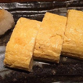 だし巻き卵(小割烹おはし渋谷)