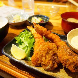 エビフライ定食(食堂居酒屋 キリン )