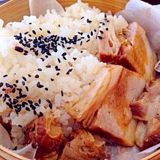 豚とお野菜のせいろ蒸し(ホガラカ 星ヶ丘店 (HOGARAKA))