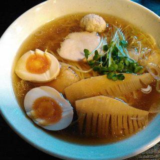 醤油ラーメン(けくぅ )