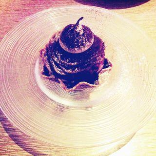 アイスモンブラン(Brasserie D & Sweetroom)
