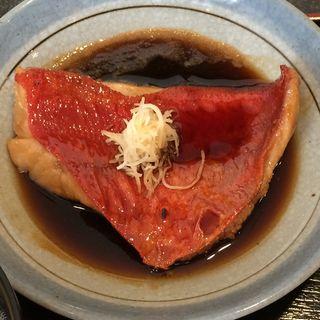 金目の煮付け(魚ごころ 季魚喜人)
