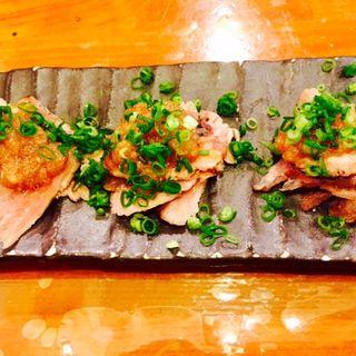 炙りマグロのホホ肉(漁十八番 )