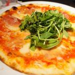 生ハムのゴルゴンゾーラピザ