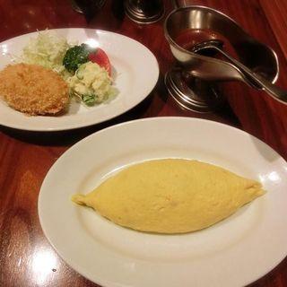 オムライス(キッチンさくらい )