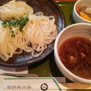 鴨汁うどん(つけ)(清月茶房)