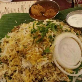 ハイドラバディ・マトン・ビリヤニ(アーンドラ・キッチン (Andhra Kitchen))
