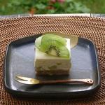 キウイのチーズケーキ