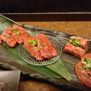 上焼5種盛(焼肉問屋 横浜醍醐 (ヤキニクドンヤ ヨコハマダイゴ 【旧店名 醍醐 横浜店】))