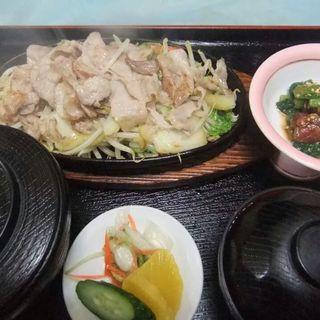 イベリコ豚の鉄板焼き(ほりせい)