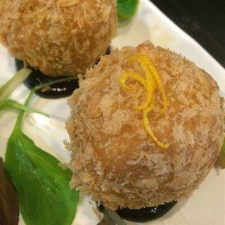 京芋のコロッケ(ほりせい)