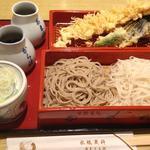 天ぷらと二色せいろ