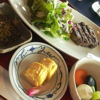 和風ステーキ定食(大阪リバーサイドホテル )