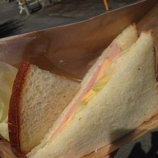 ハムチーズサンドイッチ(パン・デ・ソイア (pane de soia)移転前の店舗情報です。新しい店舗はパン・デ・ソイア(pane de soia)をご参照ください。)