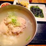 参鶏湯クッパセット