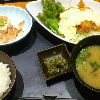 チキン南蛮膳(宮崎料理 万作 )