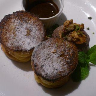 ショコラ&キャラメルナッツのブリュレフレンチトースト(C+ (ツェープラス))