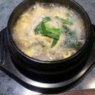ソルロンタン定食(民俗村 )