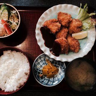 ひれかつ定食(あわじ屋 )