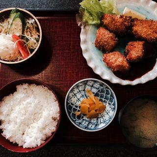 チキンカツ定食(あわじ屋 )