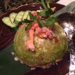 カウパットプー<蟹身入りタイ香り米のレタス焼飯>