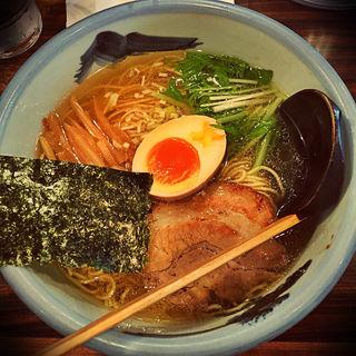 柚子醤油麺(AFURI 恵比寿店)