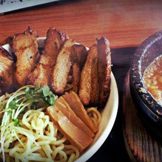 石焼き肉盛つけ麺(風雲丸 伊勢店)