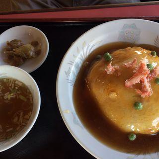 天津飯(中華料理 ふじよし)