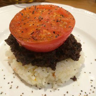 焼きトマトのドライカレー(マザーリーフ ディアモールフィオレ店 )