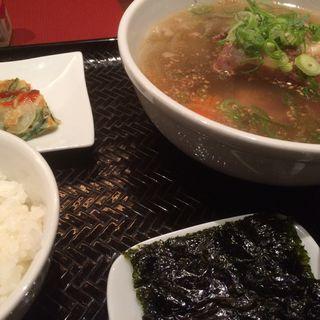 テールスープ定食(冷麺館 北新地店 )