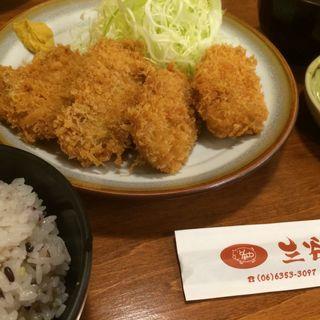 一口ヒレカツ定食(とんかつ 三谷 )