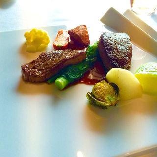 十勝より自然飼育和牛のサーロインステーキ(Le Beaucoup)