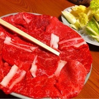 すき焼き 昼膳(今半本店)