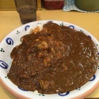 大辛カレー(カレーハウス五番館 新大阪店)