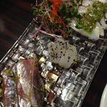 鮮魚のカルパッチョ/S