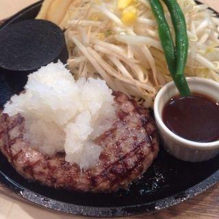 レギュラーハンバーグ+大根おろし(肉食堂 優 )