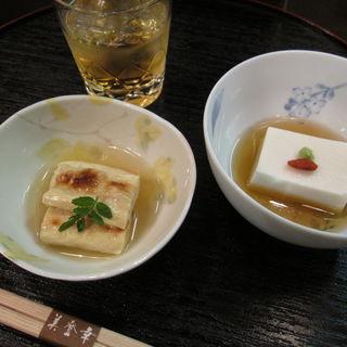 湯豆腐・ごま豆腐(美登幸 )
