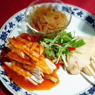 前菜三種盛り(景徳鎮 本店)