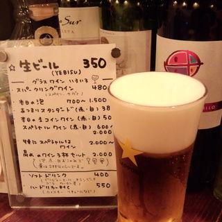 生ビール(たちのみ あつまり )