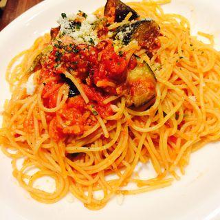 スパゲティ なすとトマト(キリンシティ 六本木店 )